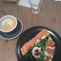 Photo taken at Monks Coffee Roasters by Sasha G. on 9/30/2017