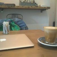 Photo taken at Monks Coffee Roasters by Sasha G. on 9/1/2017