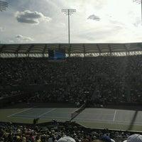 Photo taken at Practice Court 6 / Old Grandstand - USTA Billie Jean King National Tennis Center by Sasha G. on 9/2/2016