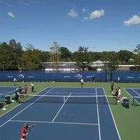 Photo taken at Practice Courts (1-5) - USTA Billie Jean King National Tennis Center by Sasha G. on 9/2/2016