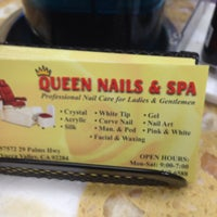 Photo taken at Queen Nails & Spa by Charletta C. on 9/27/2013