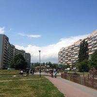 Photo taken at Przymorze by Marta B. on 5/30/2015