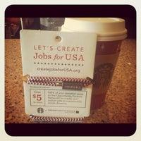Photo taken at Starbucks by Brandon Scott T. on 11/6/2012