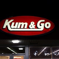 Photo taken at Kum & Go by Sarah B. on 9/3/2013