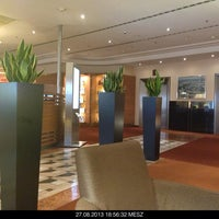 Photo taken at Sheraton Düsseldorf Airport Hotel by Lapferda R. on 8/27/2013