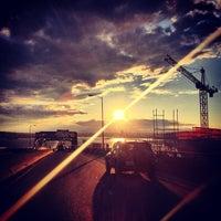 Photo taken at Evergreen Point Floating Bridge by Eben H. on 5/17/2013