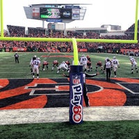Photo taken at Paul Brown Stadium by Phil C. on 11/25/2012