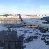 Photo taken at The Eastern Iowa Airport (CID) by Kim E. on 2/3/2013