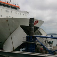 Photo taken at Fishguard Ferry Port by Bernard G. on 6/29/2013