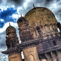 Photo taken at Gol Gumbaz by Habier L. on 8/15/2015