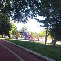Photo taken at Şehit gaffar okkan parkı by Fatma Y. on 8/17/2016