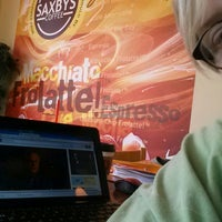 Photo taken at Saxbys Coffee by Patricia H. on 7/16/2013