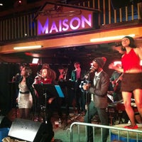 Photo taken at Maison by Michael H. on 4/21/2013