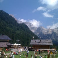 Photo taken at Malga Ces by Matteo M. on 8/23/2012