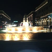 Photo taken at Frisco Square by Felipe C. on 11/26/2012