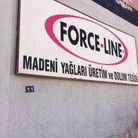 Photo taken at FORCELINE Madeni Yağları by Burak S. on 8/25/2014