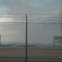 Photo taken at McCarran Airport Runway Observation by Nate R. on 7/11/2013