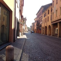 Photo taken at Piazza Guercino by Federica T. on 6/8/2014