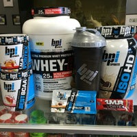 Photo taken at Sports Nutrition Superstore by Ryan H. on 12/21/2014