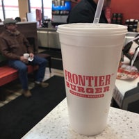 Photo taken at Frontier Burger by sidra u. on 1/2/2018
