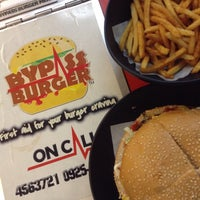 Photo taken at Bypass Burger™ by Marianne B. on 8/14/2015
