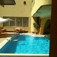 Photo taken at Güneş Suntime Hotel by Lena M. on 7/17/2014