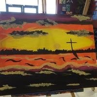 Photo taken at Painting with a Twist by CJG ✞ on 11/23/2014