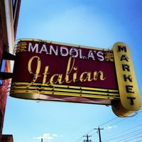 Photo taken at Mandola's Italian Market by Patrizio on 7/10/2013