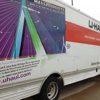 Photo taken at U-Haul Moving & Storage at Northwest Highway by Patrizio on 3/8/2013