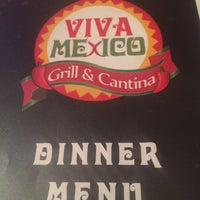 Photo taken at Viva Mexico Grill & Cantina by Will M. on 10/7/2015