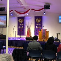 Photo taken at City of Refuge UCC Church by Will M. on 2/8/2018