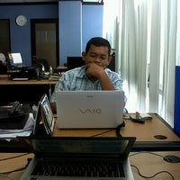 Photo taken at Wisma Bisnis Indonesia by dhinno s. on 3/16/2013