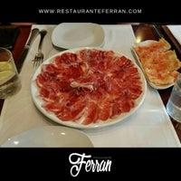 Foto tomada en Restaurante Ferran por RestauranteFerran B. el 3/31/2017