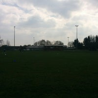 Photo taken at Sportplatz Schönewörde by Sozi C. on 4/6/2014