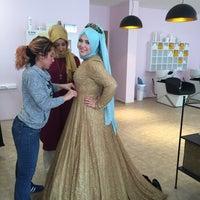 Photo taken at puzzle güzellik salonu by Yasemin Ş. on 4/10/2016