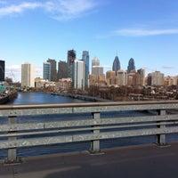 Photo taken at South Street Bridge by Fabio M. on 2/25/2017
