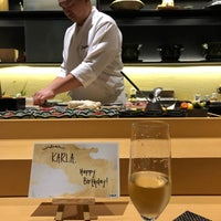 Photo taken at OMAKASE by Karla D. on 12/20/2017