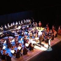 Photo taken at Teatro Popular Melico Salazar by Jean C. on 11/24/2012