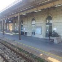 Photo taken at Stazione Falconara Marittima by Lorenzo P. on 3/22/2013