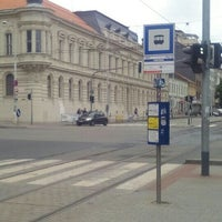 Photo taken at Pionýrská (tram, bus) by David H. H. on 7/16/2016