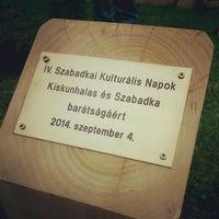 Photo taken at Kiskunhalasi Művelődési Központ by Gergő H. on 9/4/2014