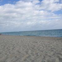Photo taken at Atlantic Beach Near Deauville by Izabella K. on 1/2/2013