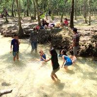 Photo taken at Sungai Hijau Bangkinang by Ilham N. on 6/9/2014