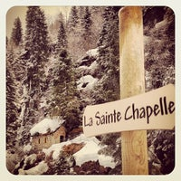 Photo taken at Notre Dame de la Gorge by Vincent N. on 3/31/2013