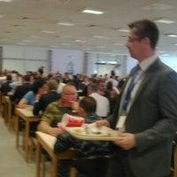 Photo taken at Aramark Restaurant NATO HQ by Iurii M. on 6/23/2015