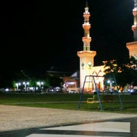 Photo taken at Alun Alun Tegal by A P. on 10/30/2016