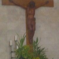 Photo taken at Gereja Katolik Salib Suci by Lucia T. on 4/6/2014