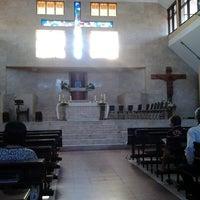 Photo taken at Gereja Katolik Salib Suci by Lucia T. on 4/17/2014
