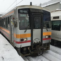 Photo taken at Minami-Otari Station by かっちゅー on 1/29/2018