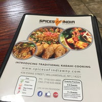 Photo taken at Spices Of India by James F. on 1/24/2016